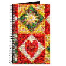 Heart Patchwork Love Quilt Journal