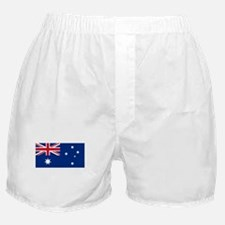 Australia Flag Picture Boxer Shorts