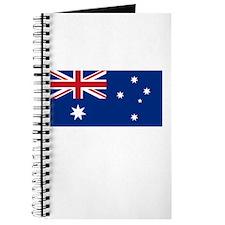 Australia Flag Picture Journal