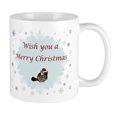 Wish you a Merry Christmas Mug