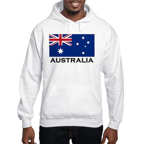Australia Flag Stuff Hooded Sweatshirt