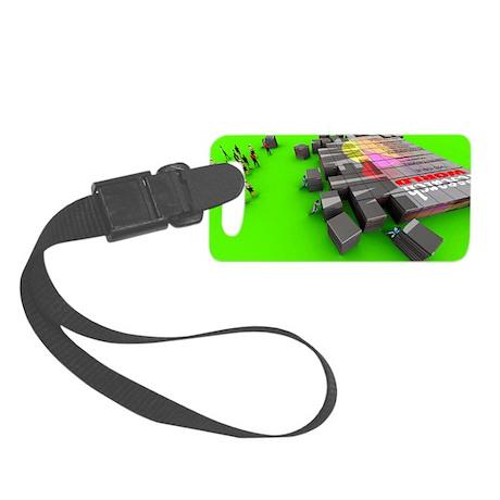 Electronic publishing - Small Luggage Tag