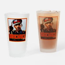 Barackracy Drinking Glass