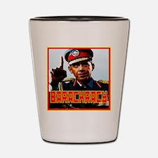 Barackracy Shot Glass