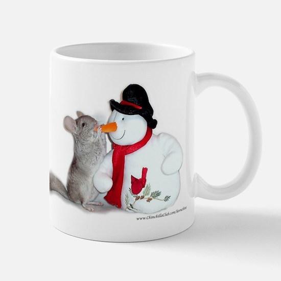 Chinchilla Christmas Mug