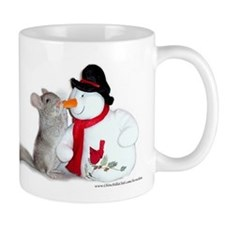 Chinchilla Christmas Mug