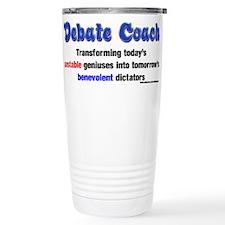 Cute Debate coach Travel Mug