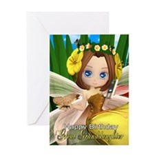 Great Granddaughter Fairy Birthday card