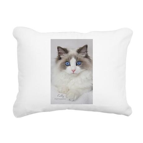 Ragdoll Kitten Rectangular Canvas Pillow