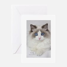 Ragdoll Kitten Greeting Card