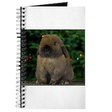 Christmas Bunny Journal