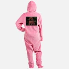 Christmas Bunny Footed Pajamas