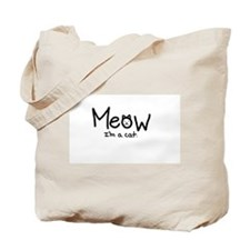 Cute Cat cartoon Tote Bag