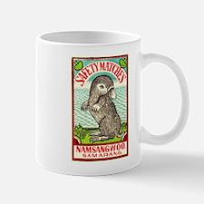 1930 Indian Platypus Antique Matchbox Label Mug