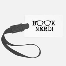 Book Nerd Luggage Tag