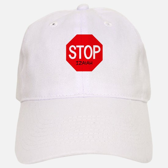 Stop Izaiah Baseball Baseball Cap
