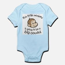 Big Cousin to be - Monkey Face Body Suit