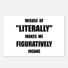 Literally Figuratively Postcards (Package of 8)