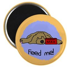 Feed Me Otterhound Magnet
