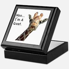 Moo Giraffe Goat Keepsake Box