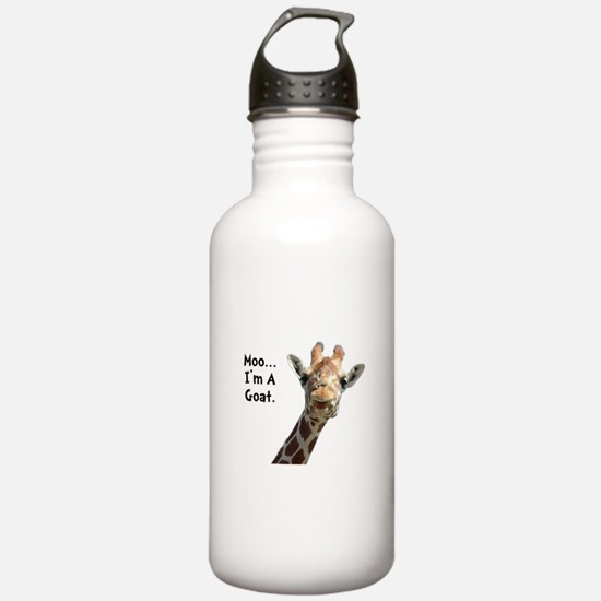 Moo Giraffe Goat Water Bottle