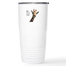 Moo Giraffe Goat Travel Mug