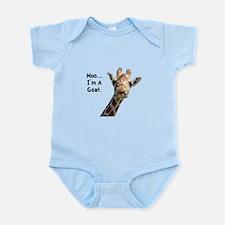 Moo Giraffe Goat Infant Bodysuit