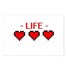 Life Hearts Postcards (Package of 8)
