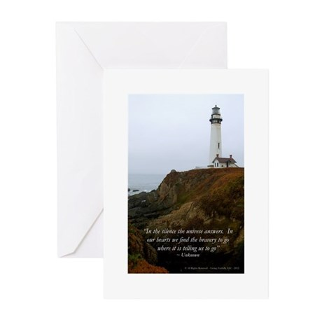 California Lighthouse Greeting Cards (Pk of 10)