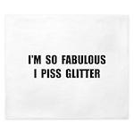 Piss Glitter King Duvet