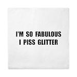Piss Glitter Queen Duvet