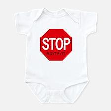 Stop Gustavo Infant Bodysuit