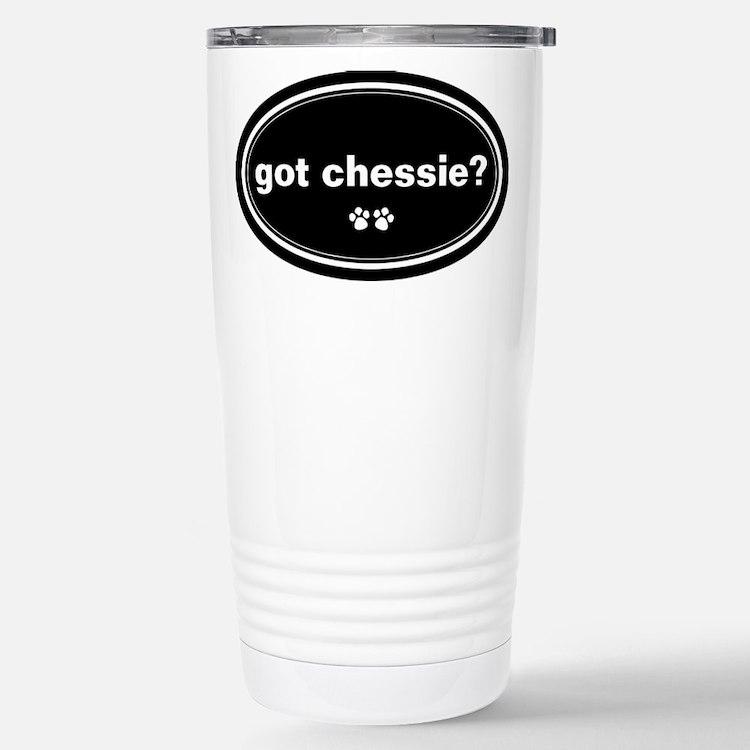 Cute Chesapeake bay retrievers Travel Mug