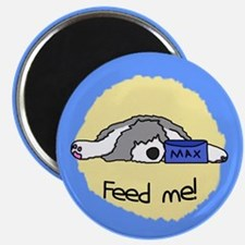 Feed Me Sheepdog Magnet