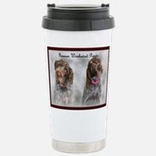 Cool German wirehaired pointer Travel Mug
