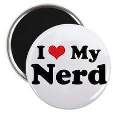 """I Heart My Nerd 2.25"""" Magnet (100 pack)"""