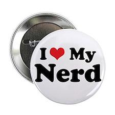 """I Heart My Nerd 2.25"""" Button (10 pack)"""