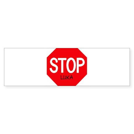 Stop Luka Bumper Sticker