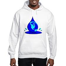 Earths Water Supply is Dwindling Hoodie