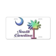 Rainbow SC Aluminum License Plate