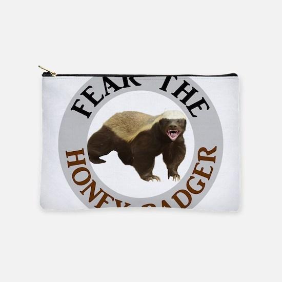 Honey Badger Fear Makeup Pouch