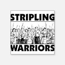 "Stripling Warriors Square Sticker 3"" x 3"""