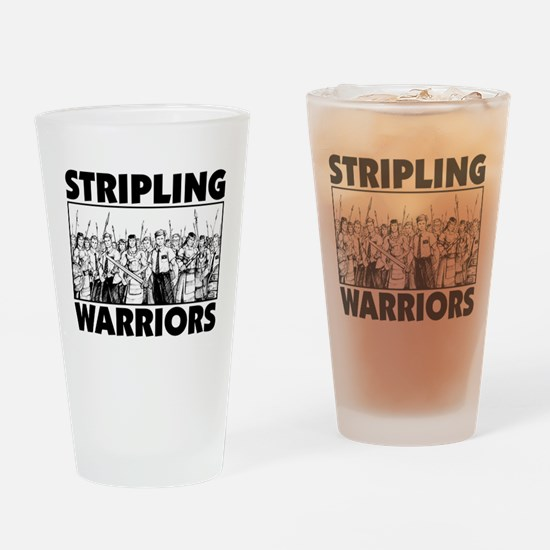 Stripling Warriors Drinking Glass