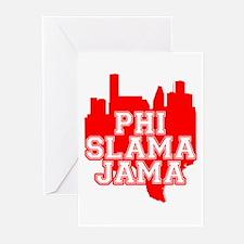 Phi Slama Jama Greeting Cards (Pk of 20)