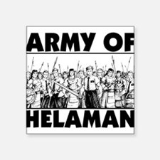 """Army of Helaman Square Sticker 3"""" x 3"""""""