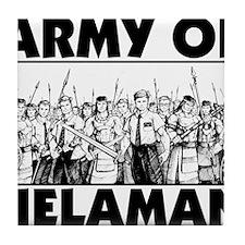 Army of Helaman Tile Coaster