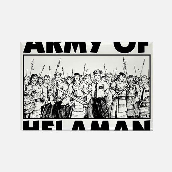 Army of Helaman Rectangle Magnet