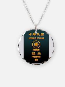 PASSPORT(TAIWAN) Necklace