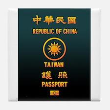 PASSPORT(TAIWAN) Tile Coaster