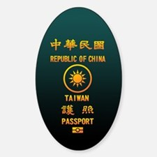 PASSPORT(TAIWAN) Decal
